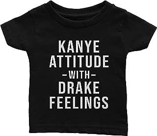 Kanye Attitude Drake Feelings T-Shirt (Youth)