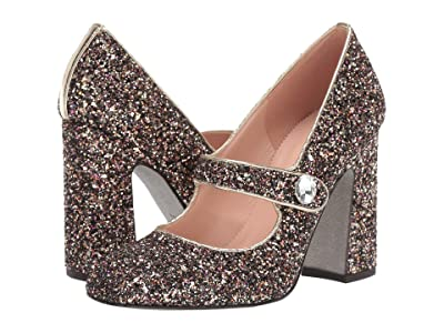 J.Crew Glitter Mary Jane with Buckle Vicky Pump (Rainbow Party) Women
