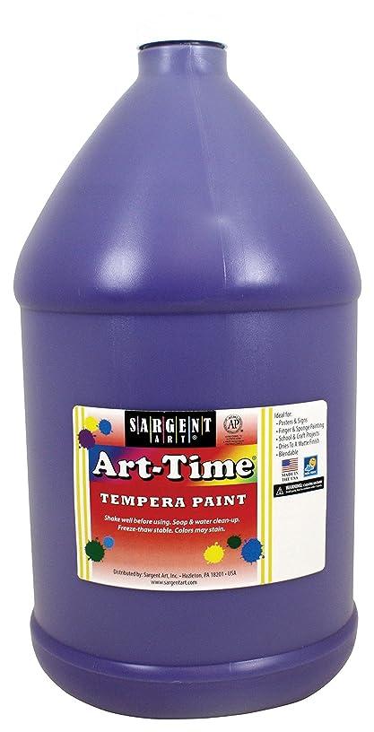 Sargent Art 17-6642 Gallon Violet Art-Time Tempera Paint