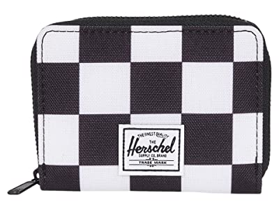 Herschel Supply Co. Tyler RFID (Checker Black/White/Black) Wallet Handbags