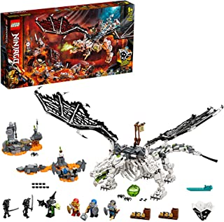 LEGO NINJAGO 71721 Skull Sorcerer's Dragon Building Set with 6 Mini Figures Toy for Kids, 9+ Years (1016 Pieces)