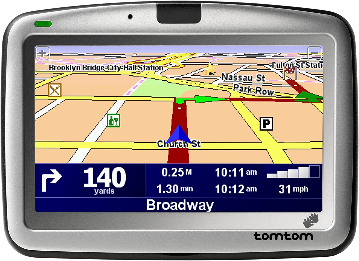 TomTom GO 910 4-Inch Bluetooth Portable GPS Navigator (Discontinued by Manufacturer)