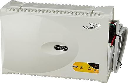 V-Guard VG 400 for 1.5 Ton A.C (170V to 270V) Voltage Stabilizer (Grey)