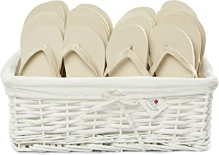 Zohula Flip Flops Wedding Baskets - 20 Pairs [Sx10][Mx10] - Choice of Colours