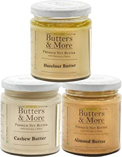 Butters & More Vegan Nut Milk Starter Combo, 3 X 200G