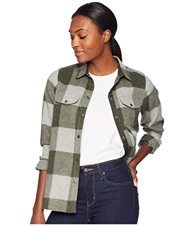 Fjallraven Canada Shirt (Laurel Green/Fog) Women