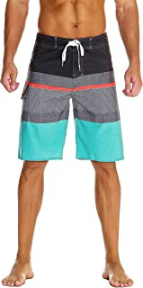 Nonwe Men's Swim Trunk Sportwear Quick Dry Board Shorts with Lining