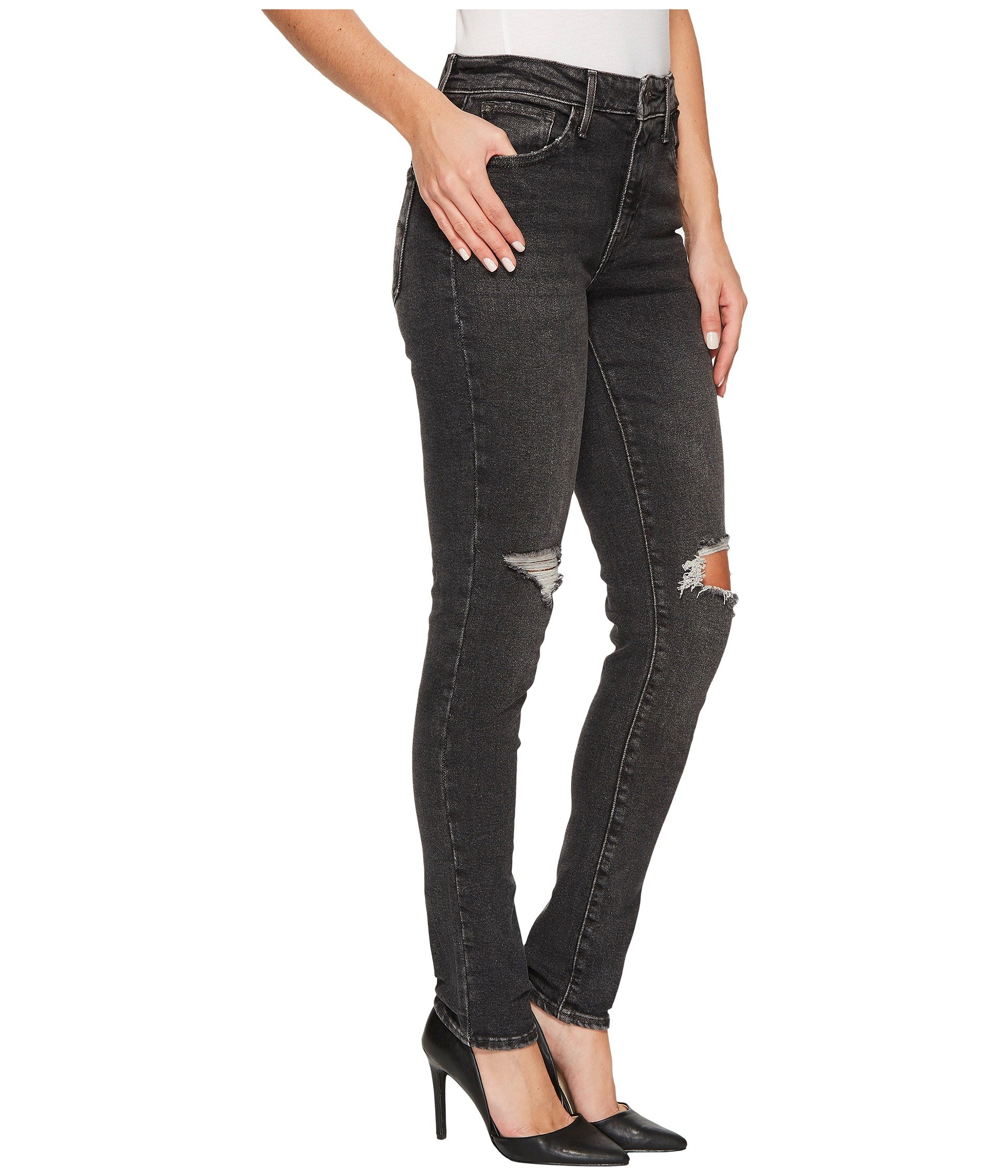 Levi's high rise skinny jeans in blue breeze