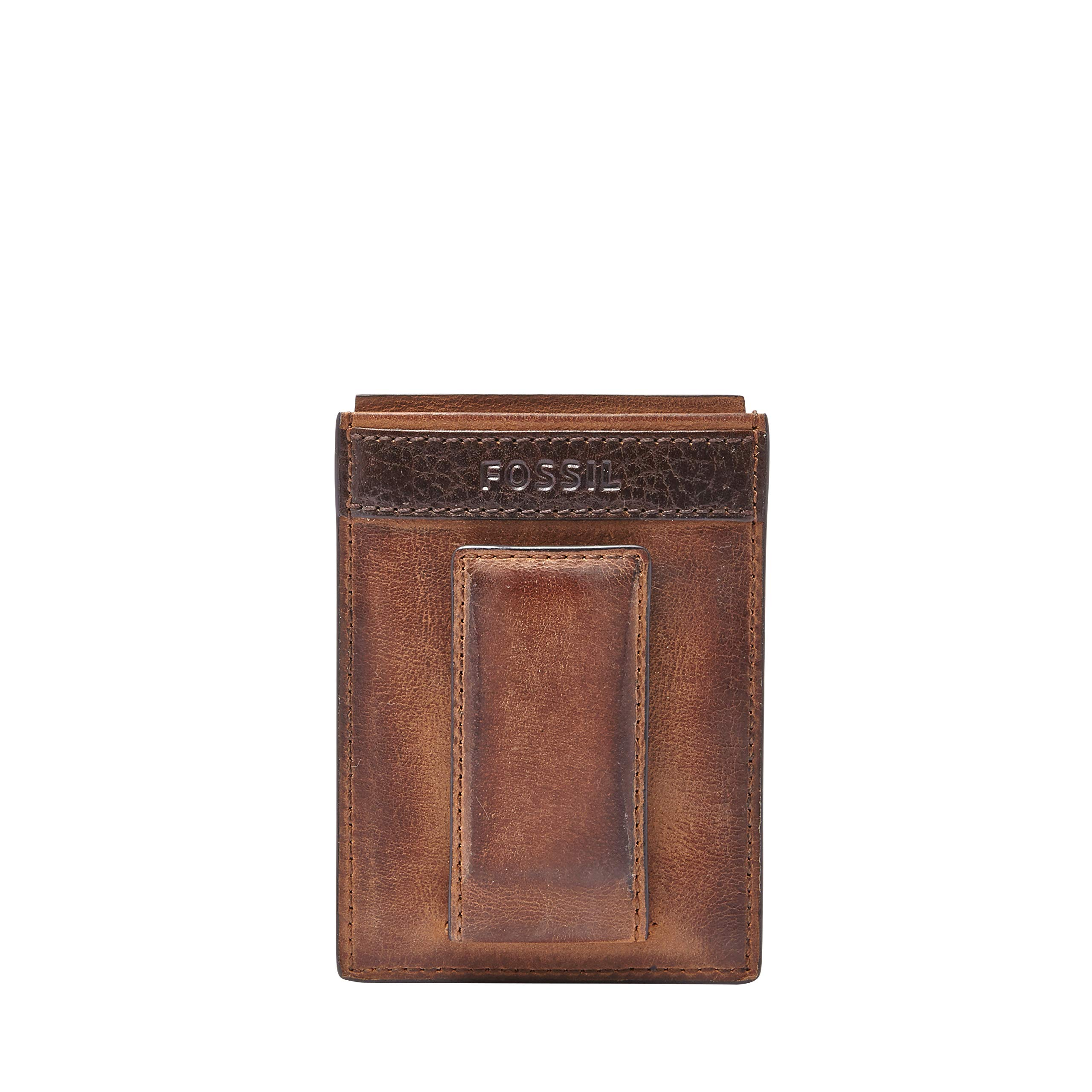 Fossil Magnetic Wallet Quinn Brown