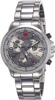 Swiss Military Hanowa - Reloj Analógico para Hombre de Cuarzo con Correa en Acero Inoxidable 06-5250.04.009