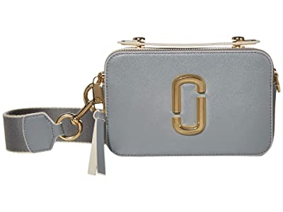 Marc Jacobs The Sure Shot Large Snapshot (Rock Grey) Handbags