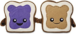 Leaps & Bounds Play Plush Peanut Butter and Jelly Dog Toy