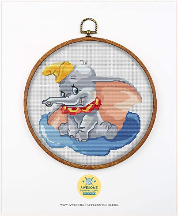 Fabrick and 4 Printed Color Schemes Inside Needles Pluto K261 Counted Cross Stitch KIT#2 Threads Embroidery Pattern Kit