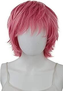 EpicCosplayApollo Sky Magenta Shaggy Wig for Spiking (33SM)