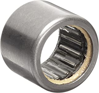 """INA SCE129P Needle Roller Bearing, Steel Cage, Open End, Single Seal, Inch, 3/4"""" ID, 1"""" OD, 9/16"""" Width, 10000rpm Maximum Rotational Speed"""