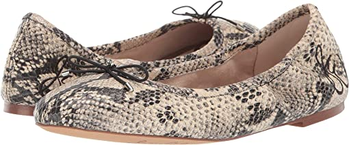 Beach Multi Pacific Snake Print Leather