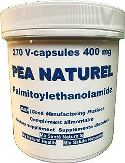 PEA NATUREL Palmitoiletanolamida Ultra Micronizada=UM PEA - DOLOR CRÓNICO - 270 cápsulas vegetales de