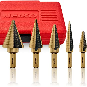 Milageto HSS Drill Bits 117mm with Straight Shank Fits All