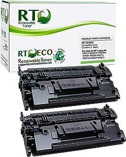Renewable Toner Compatible Cartridge High Yield Replacement for HP 87X CF287X Laserjet M506 M501 M527 (Black, 2-Pack)