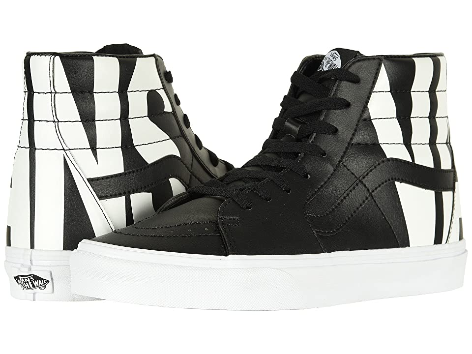 Vans SK8-Hitm ((Classic Tumble) Vans/Black) Skate Shoes
