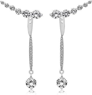 Tuscany Silver - Boucles d'oreilles - Argent 925 - Oxyde de Zirconium - 8.58.9699