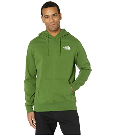 The North Face Red Box Pullover Hoodie (Garden Green/TNF Black Psychedelic Print) Men