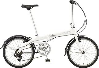 DAHON(ダホン) 折りたたみ自転車 Vybe D7 インターナショナルモデル 20インチ 2016年モデル 外装7段変速 アルミフレーム ホワイト ABA071
