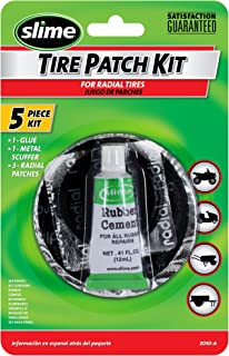 Slime 2030-A Tire Patch Kit with Glue