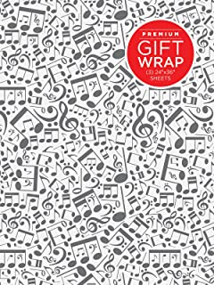 Hal Leonard Wrapping Paper - Music Notes Theme