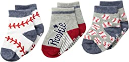 Mud Pie All Socks Set of 3-Pair (Infant)