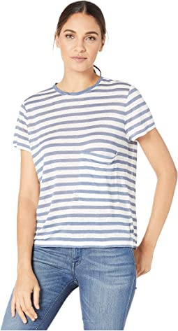 Stripes/White