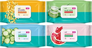 Epielle Assorted 60ct - 4 Pack Color Block Tissues (Assortment A)
