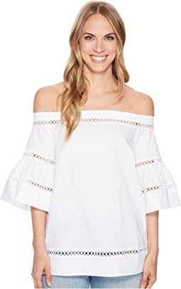Off Shoulder Trim Top