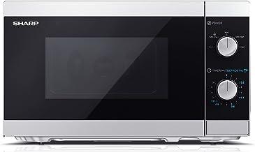 SHARP YC-MS01ES microondas 20L con Función de descongelado, Control mecánico, y 800W de potencia