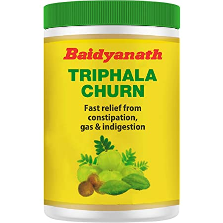 Baidyanath Triphala Churna - Quick Relief from Digestive Distress- 240g (Pack of 2)