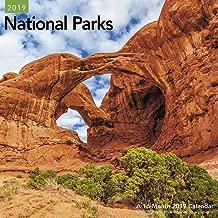 National Parks Wall Calendar (2019)