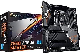 GIGABYTE Z590 AORUS MASTER Rev.1.0 マザーボード ATX [Intel Z590チップセット搭載] MB5265
