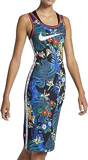 Nike Dress Hyper Femme Tee For Women, L BLACK/LT CRIMSON/WHITE (AQ9724-010)