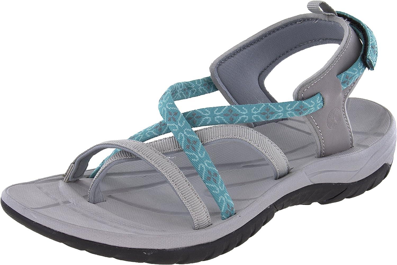 Northside Womens Covina Sport Open Toe Strap Sandal