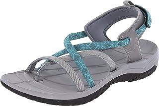 Northside Covina 女士运动露趾系带凉鞋