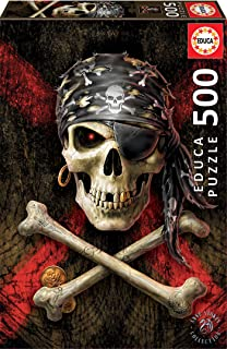 Educa 500pc Puzzle Pirate Skull