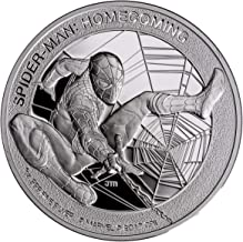 spiderman homecoming silver coin
