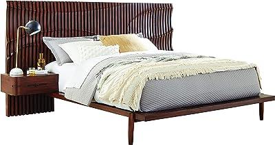 Coaster Home Furnishings San Mateo Queen Bed Desert Teak Platform