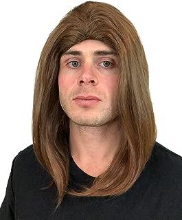Premium Mens Rocker Wig Halloween Wig for Men (Multiple Styles)