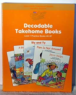 Open Court Reading - Practice Decodable Takehome Blackline Masters (Books 49-97 )(1 Workbook of 48 Stories) - Grade 1