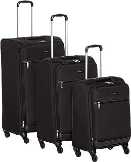 حقيبة سفر بعجلات ناعمة من أمازون بيسيكس