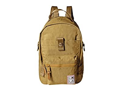 LOLA Utopian Small Backpack (Khaki) Backpack Bags