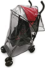 Primo Passi Umbrella Stroller Rain Cover | Weather Shield Universal Clear