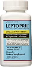 GENERIX LABORATORIES Leptopril- Dietary Supplement and Acute Metabolic Regulator, Weight-Control Compound For the Significantly Overweight*, (95 count)