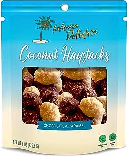 Island Delights Chocolate & Caramel Mix Coconut Haystacks